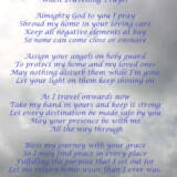 23. When Travelling Prayer