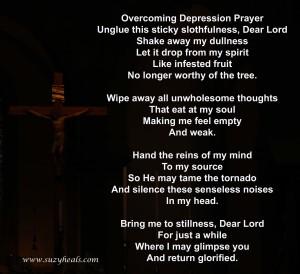 depression prayer