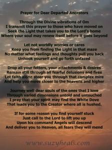 prayer for souls departed
